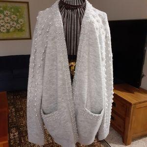 Maje oversized cardigan